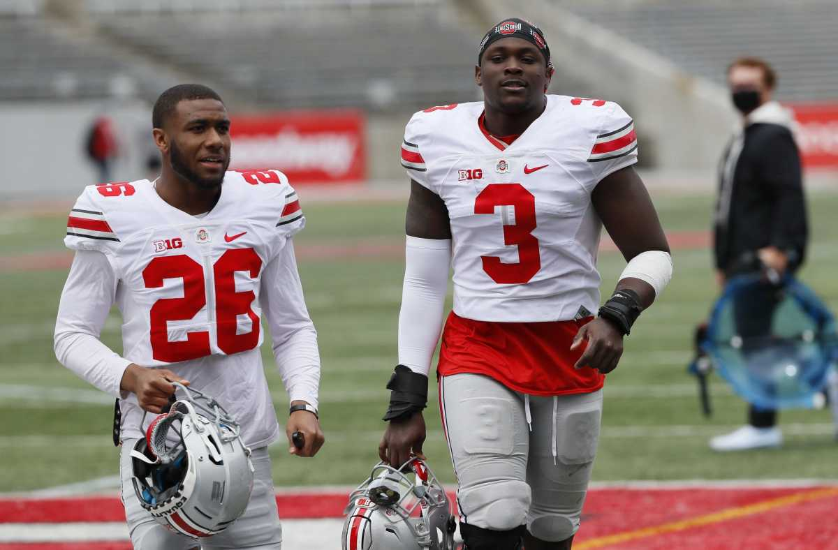 Cameron Brown (left) and Teradja Mitchell (right).