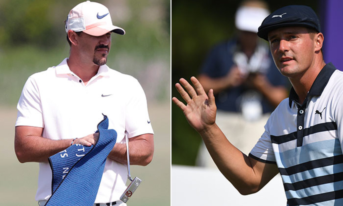 Brooks Koepka and Bryson DeChambeau will be teammates at the Ryder Cup.USA Today