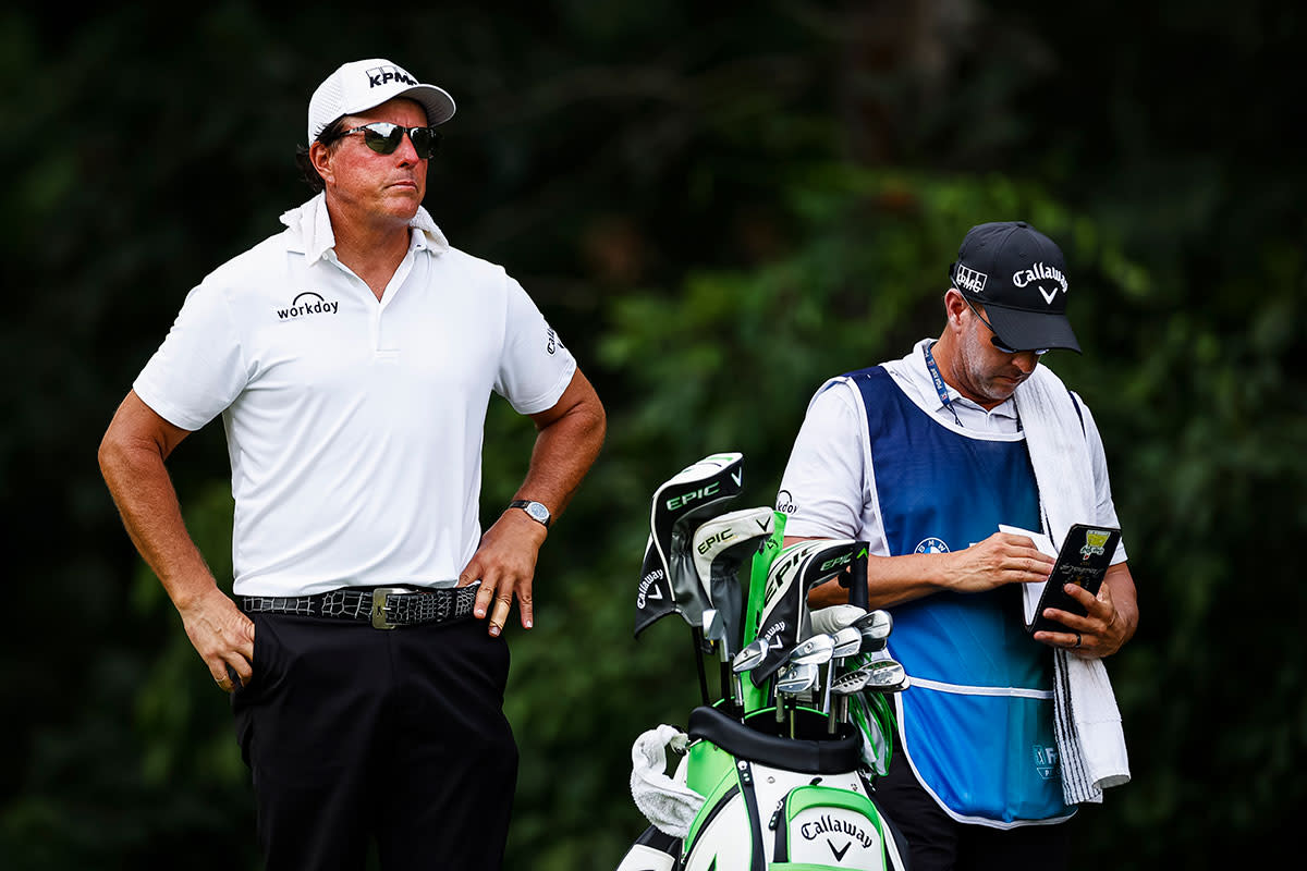 Phil Mickelson finished last at the BMW Championship.USA Today