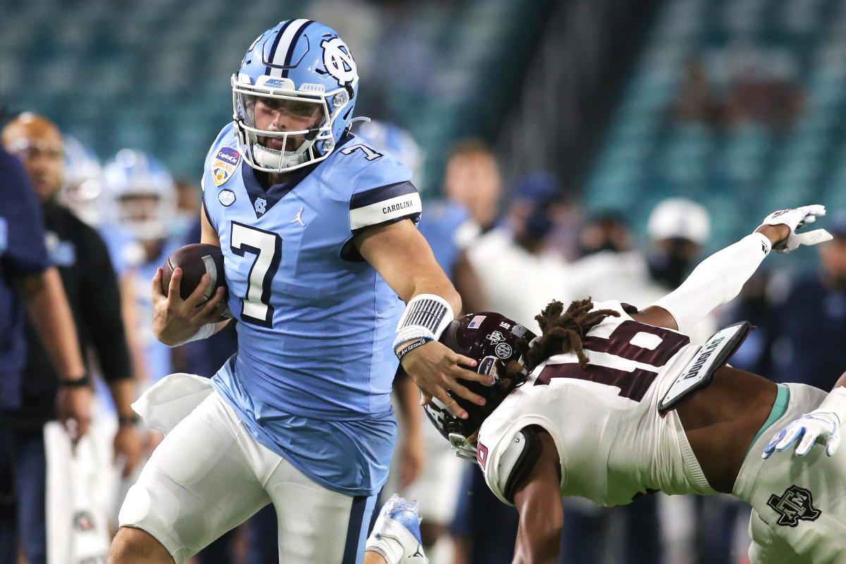 Sam Howell, Quarterback, North Carolina