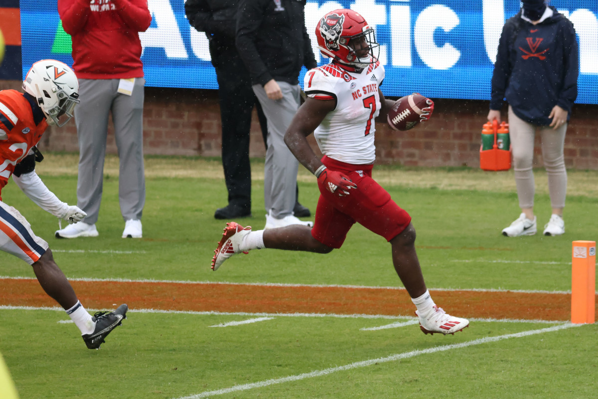 Zonovan Knight, running Back, North Carolina State
