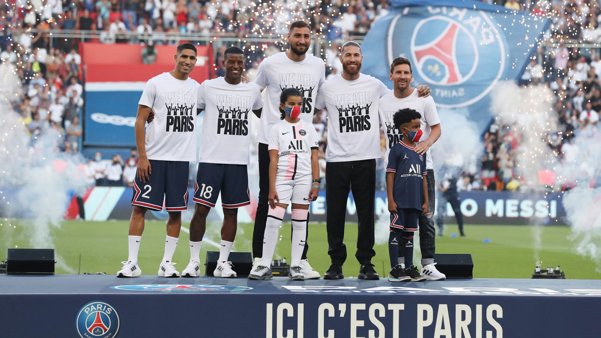 PSG's summer signings