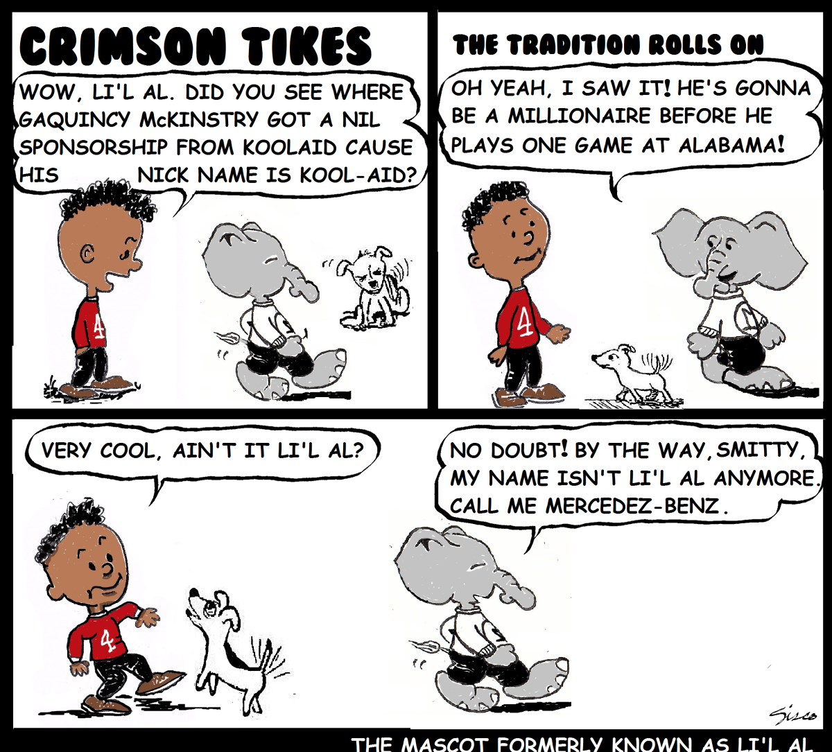 Crimson Tikes: The Artist Formally Known as Li'L Al