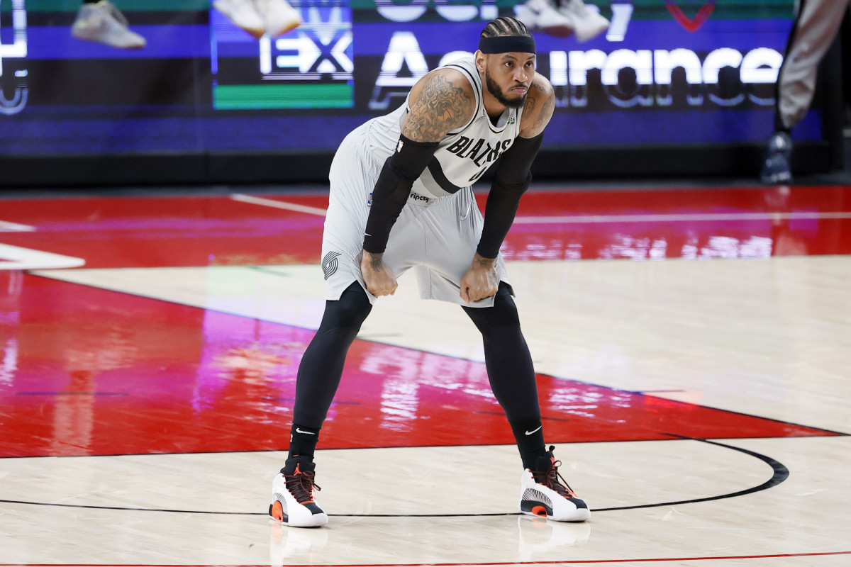 Lakers News: Carmelo Anthony Comments On LA's Age and NBA Experience - Sports Illustrated