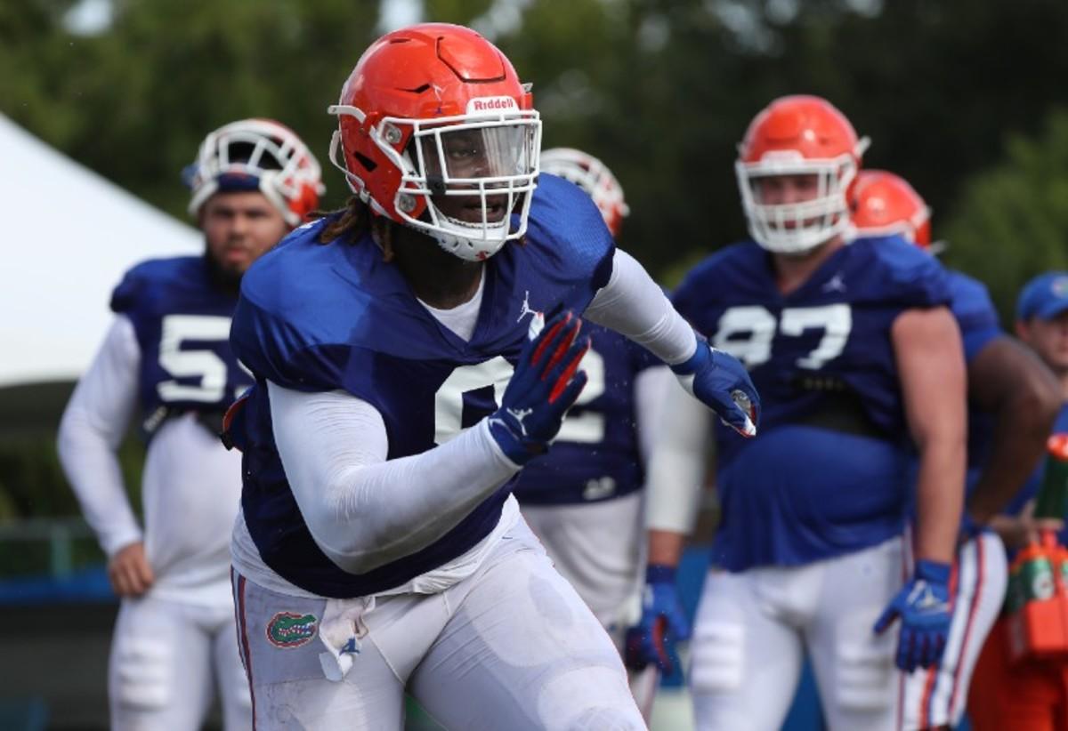 Florida Gators defensive tackle Gervon Dexter