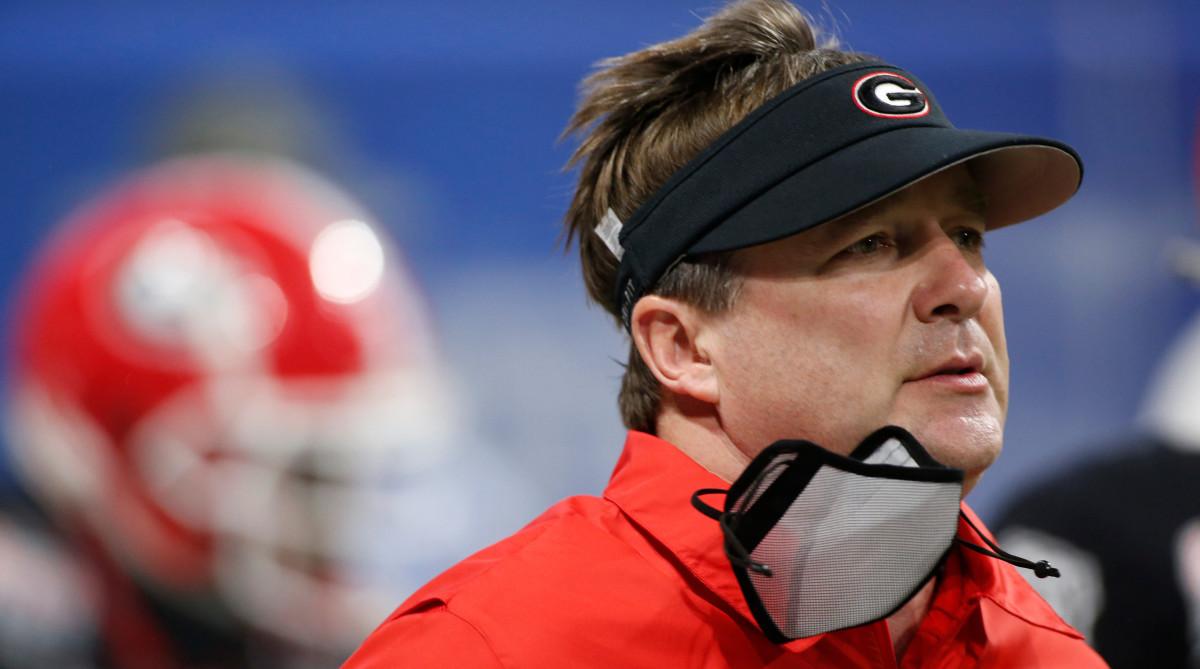 Georgia football coach Kirby Smart
