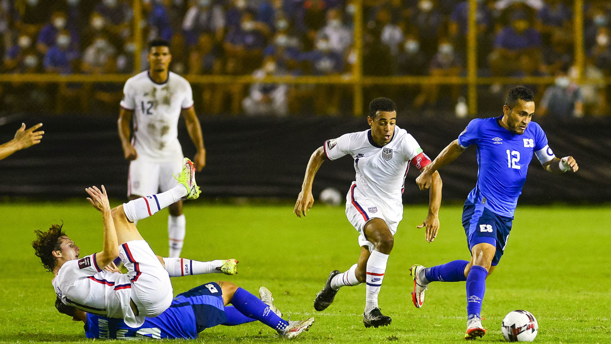 Tyler Adams and the USMNT draw El Salvador in World Cup qualifying