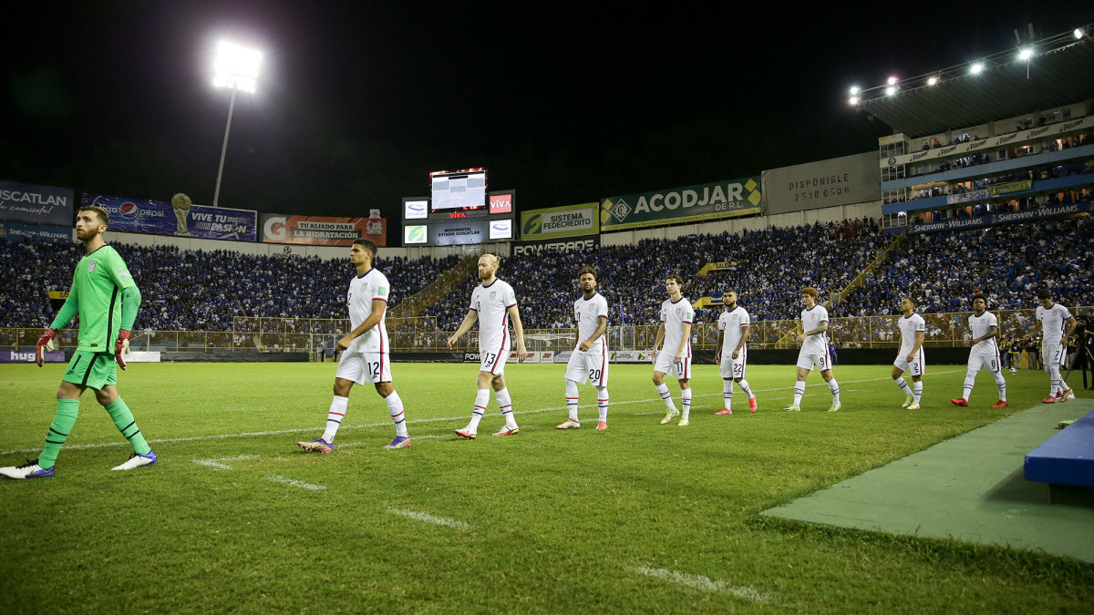 USMNT faces El Salvador in World Cup qualifying
