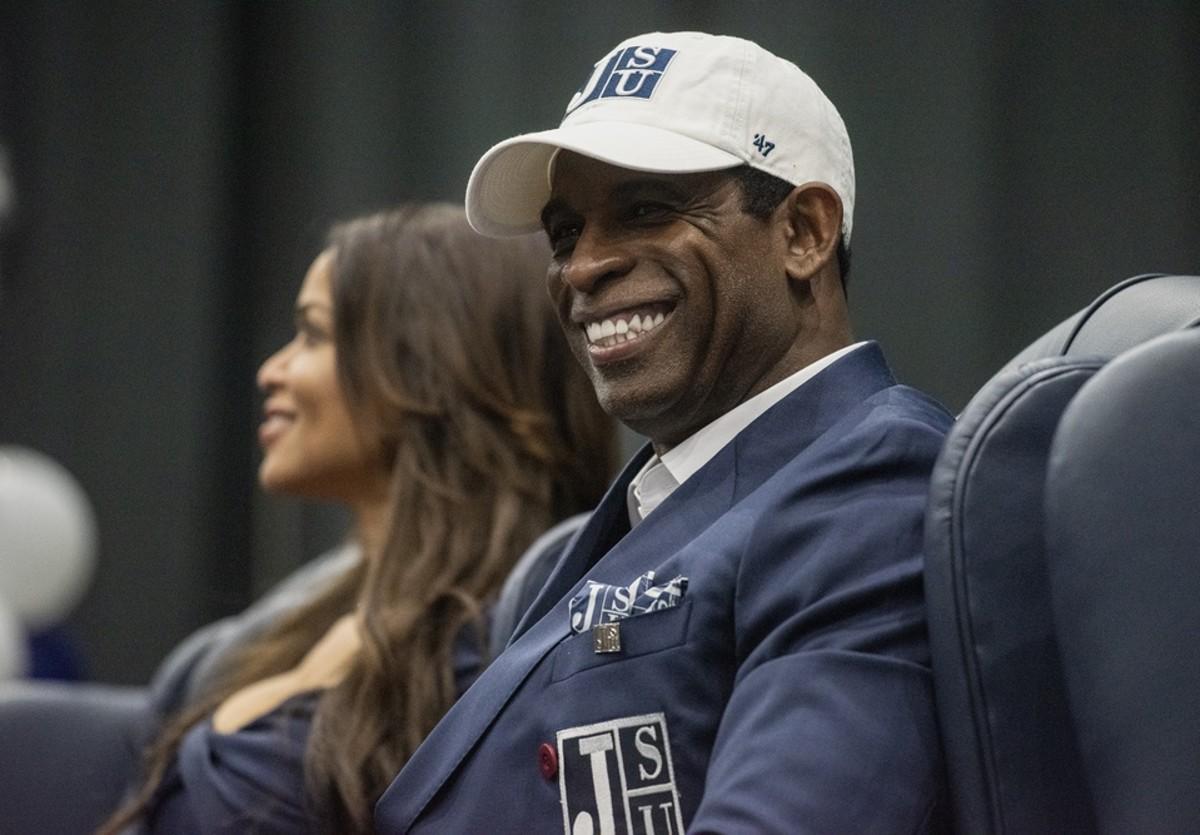Deion Sanders Introduced as JSU Head Coach