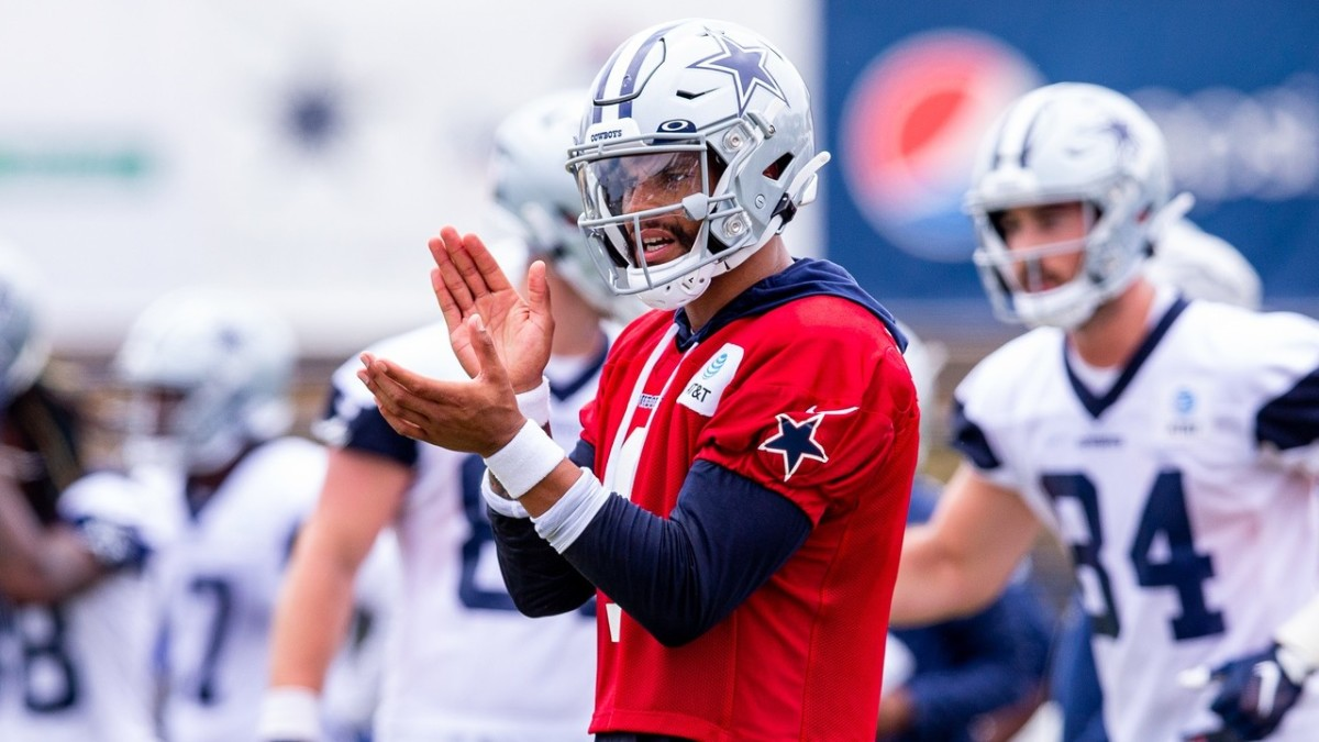 Dak Prescott is 100% and ready to play on Thursday night.