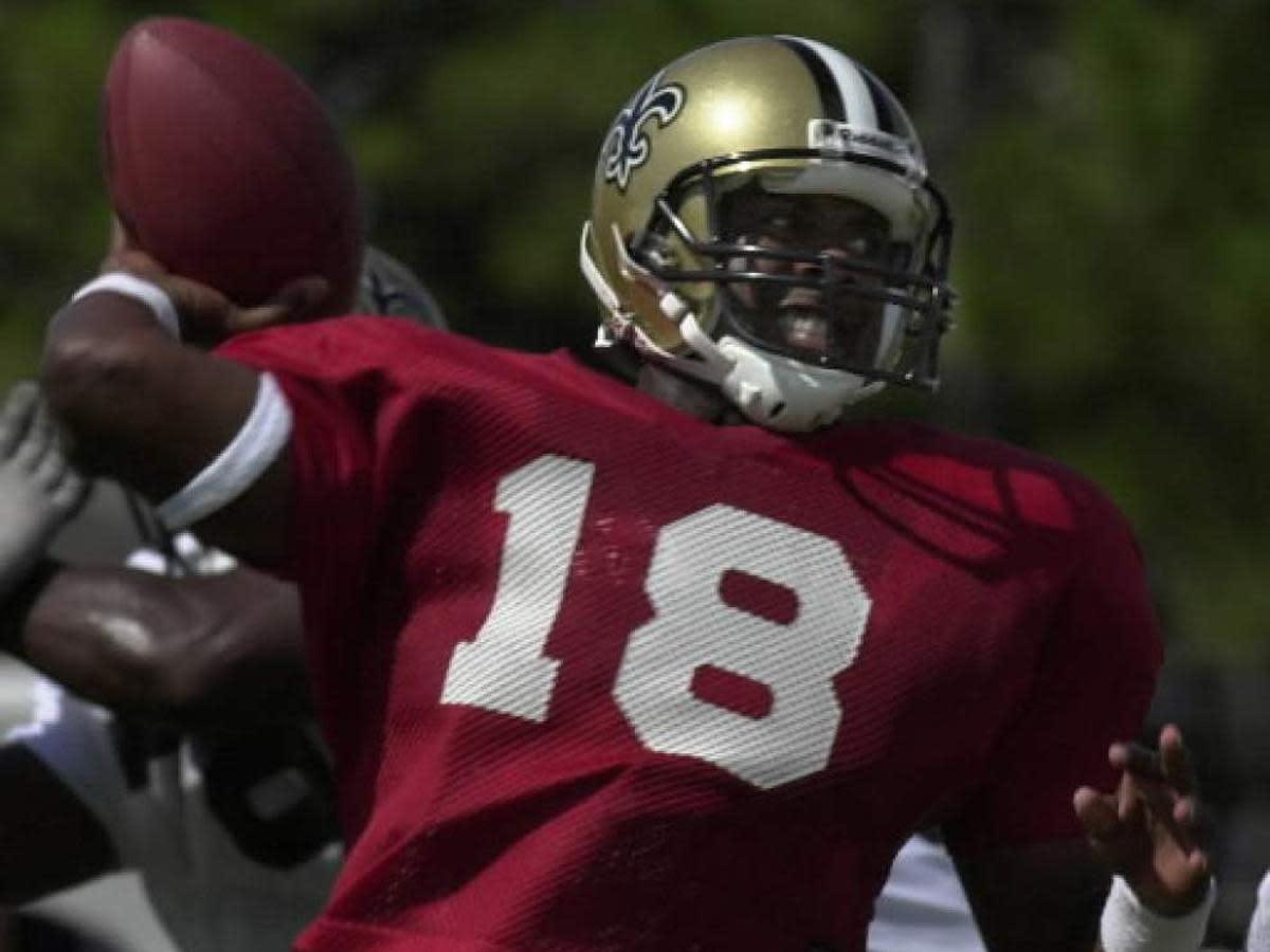 Former New Orleans Saints quarterback Jeff Blake. Credit: Nola.com