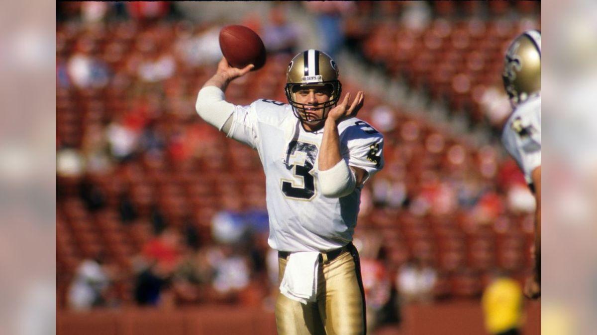 Former New Orleans Saints quarterback Bobby Hebert. Credit: neworleanssaints.com