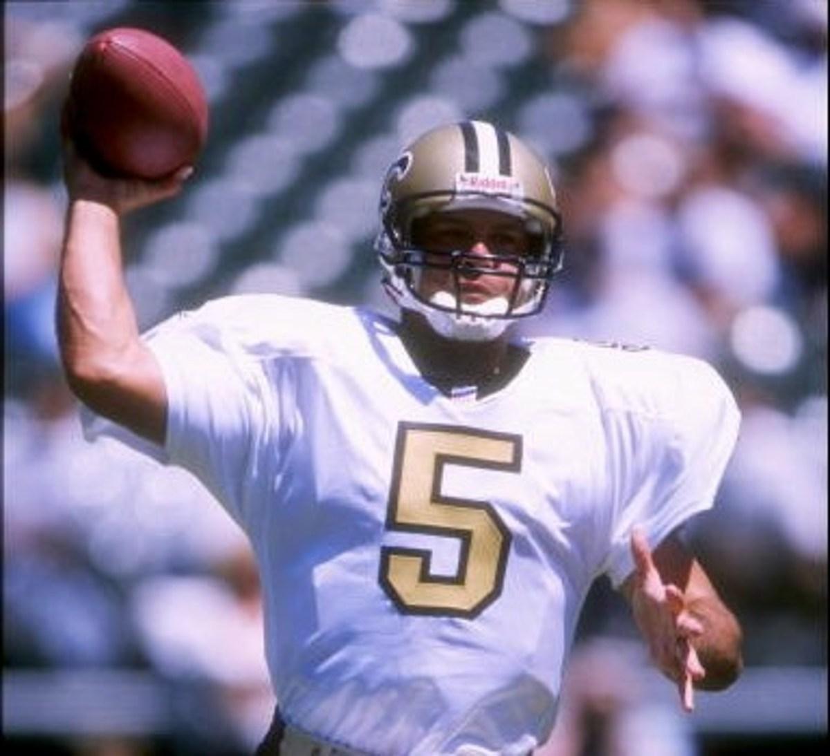 Former New Orleans Saints quarterback Heath Shuler. Credit: 973thedawg.com
