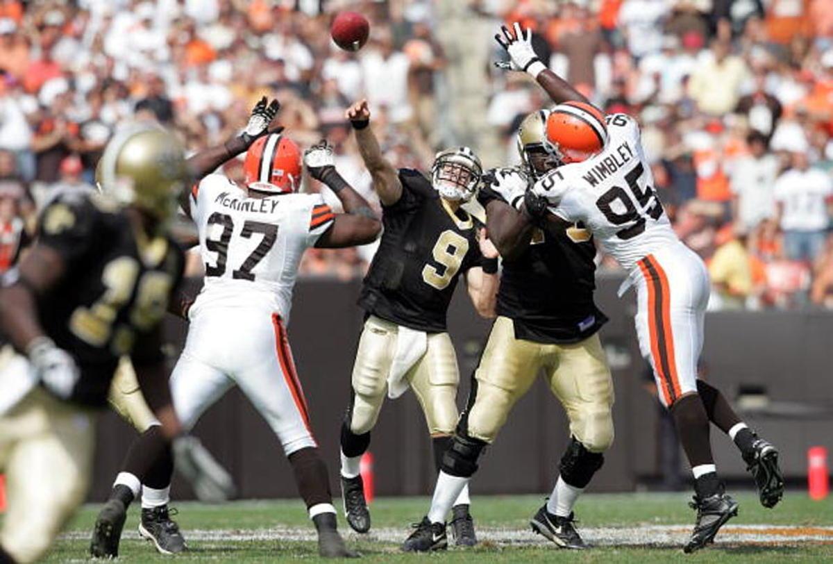 Former New Orleans Saints quarterback Drew Brees (9). Credit: classicrock1051.com