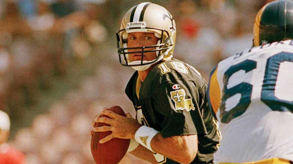 Former New Orleans Saints quarterback Wade Wilson (18). Credit: neworleanssaints.com