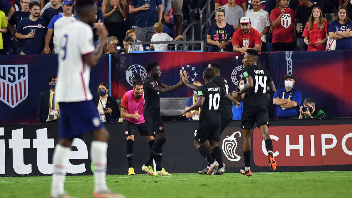 Canada scores vs. the USMNT in World Cup qualifying