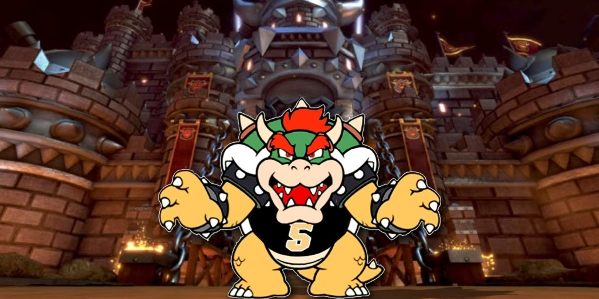 Bowser and Mario Kart, quite the comparison from Mr. Robinson regarding his teammate