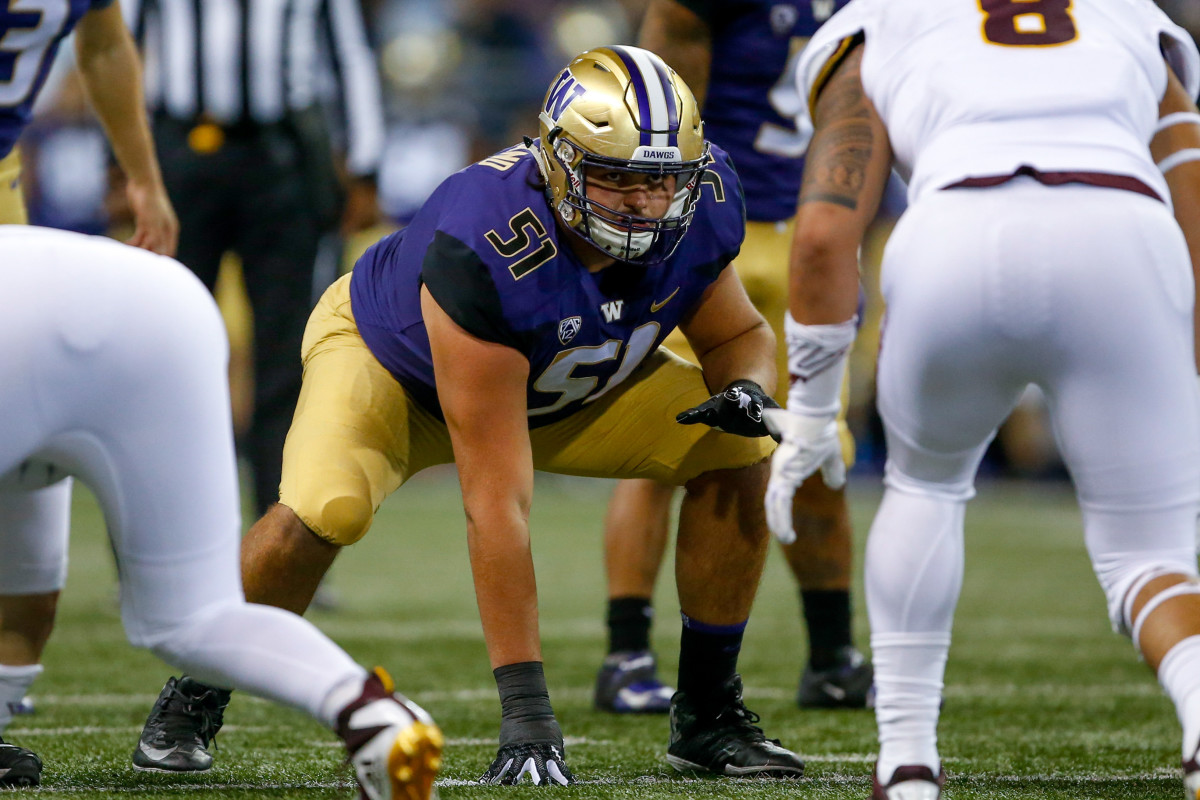 Washington's Jaxson Kirkland has the build and athleticism of a potential first-round pick.