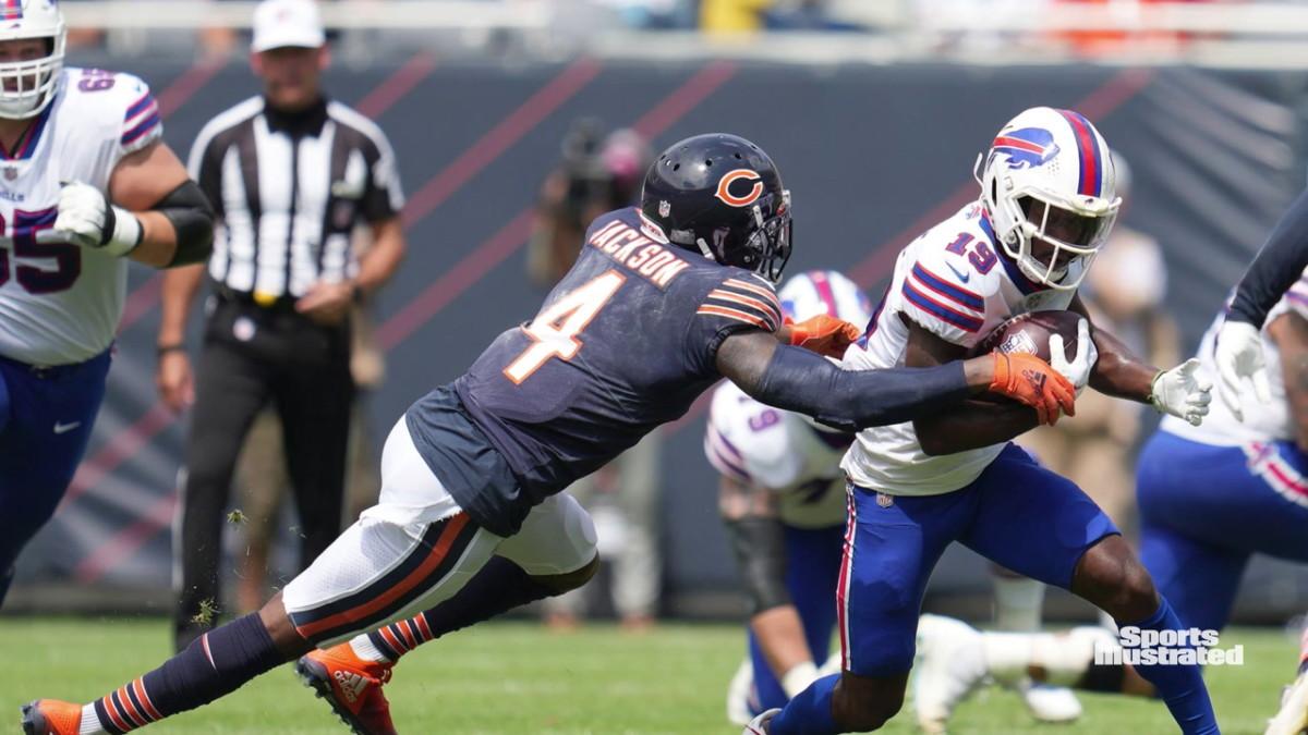 Eddie Jackson se enfoca en abordar el récord de los Chicago Bears