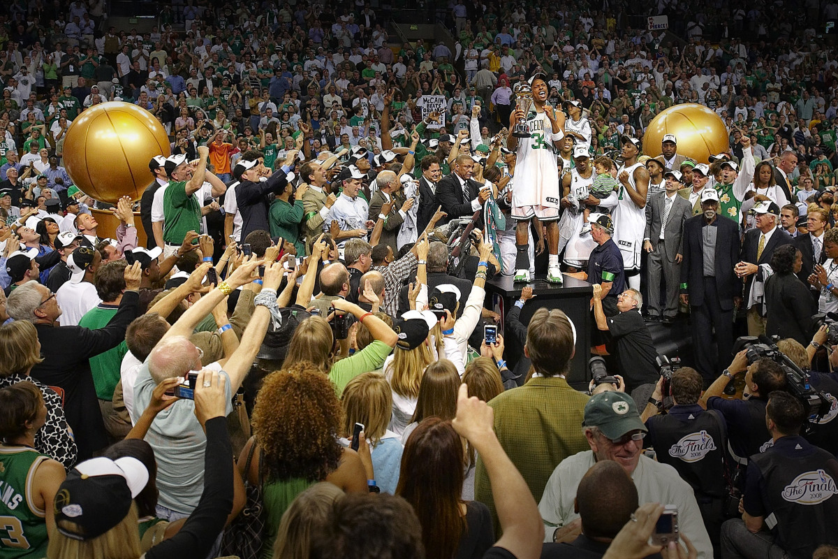 Pierce was the Finals MVP in 2008, as Boston won its first title in 22 years.