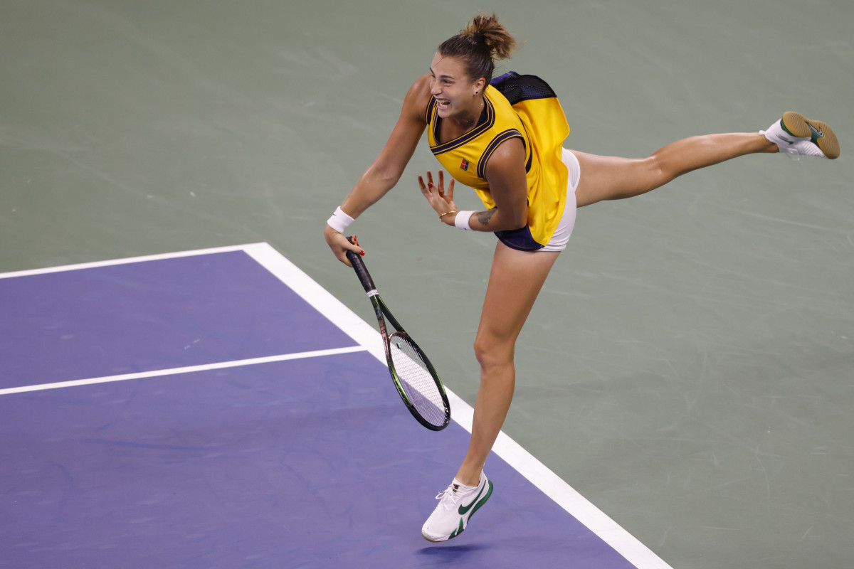 Aryna Sabalenka has advanced to back-to-back Grand Slam quarterfinals. Before this year's Wimbledon, she had failed in 14 tries.