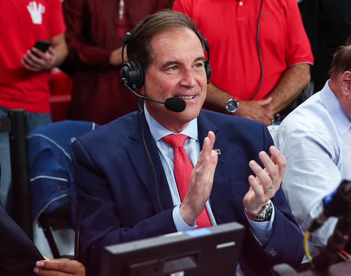 CBS broadcaster Jim Nantz.