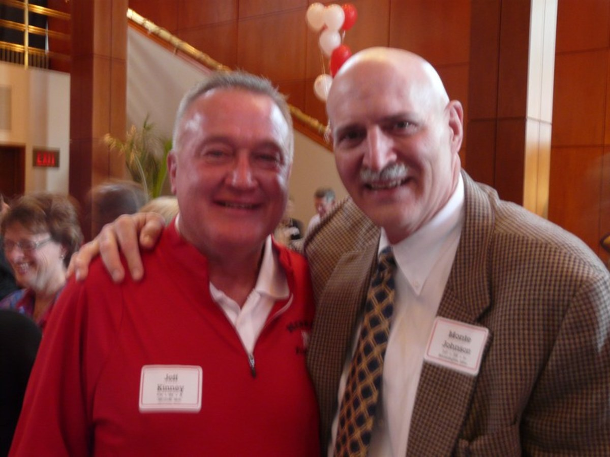 Monte Johnson and Jeff Kinney
