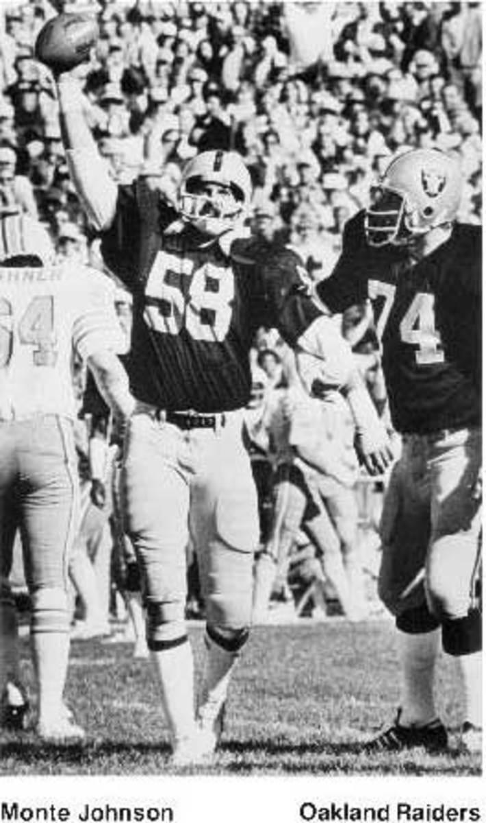 Monte Johnson Oakland Raiders