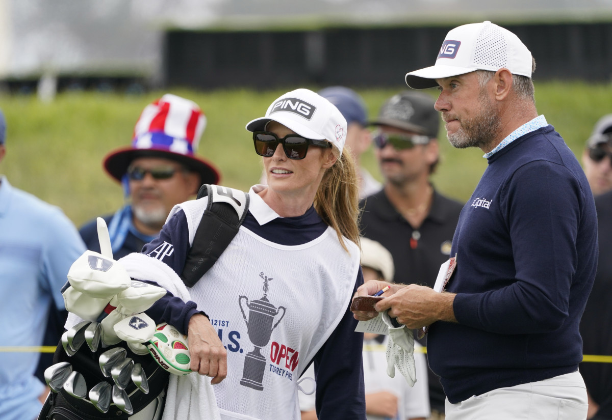 Lee Westwood and Helen Storey(USA Today)