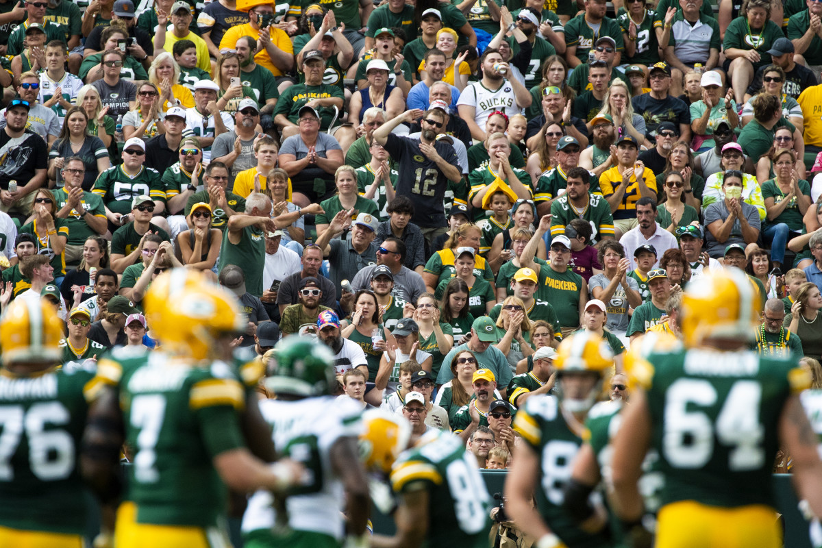 Week 1 of the NFL season marks the return of fans to stadiums after a year away.