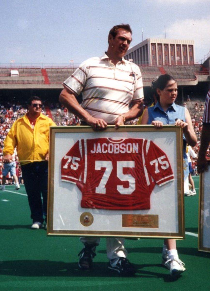 Larry Jacobson HOF jersey