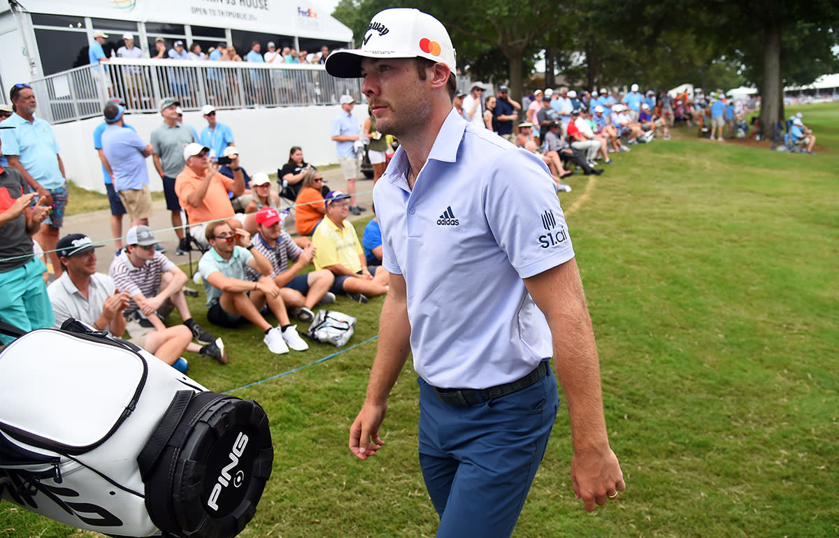 Sam Burns has a legit gripe with being left off the Ryder Cup team.