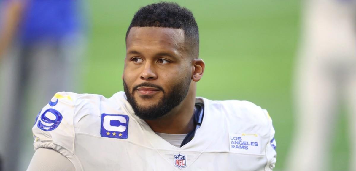 Los Angeles Rams DT Aaron Donald Says he Feels Smarter