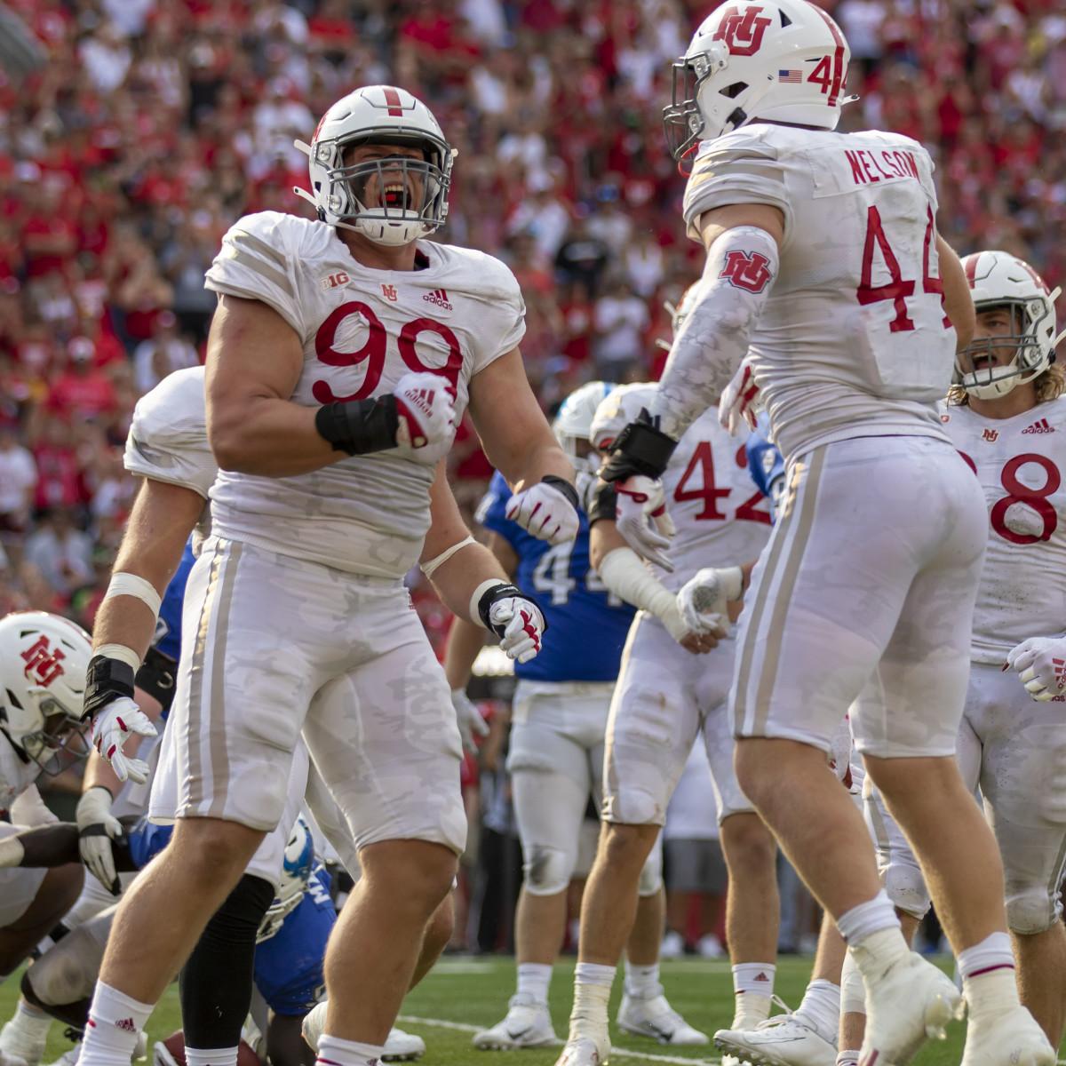 Ty Robinson 2 2021 Buffalo at Nebraska football