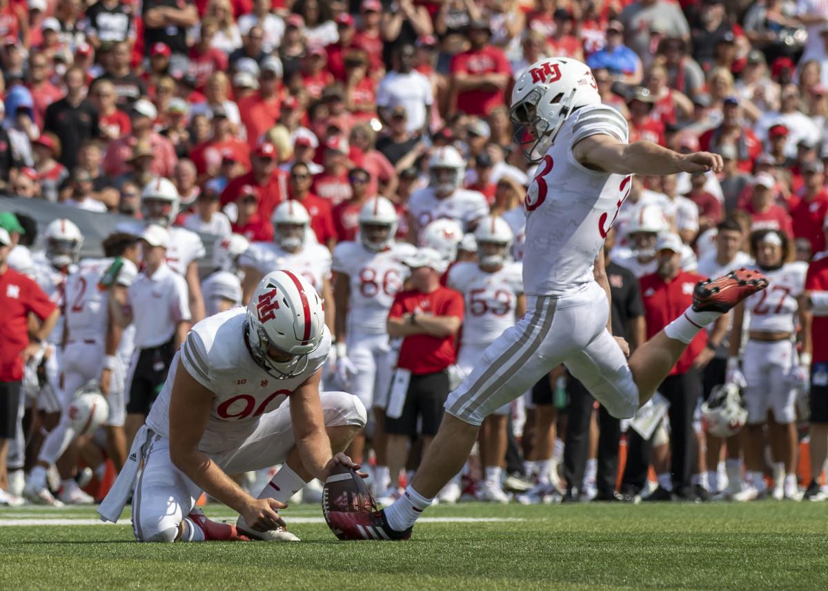 Connor Culp 2021 Buffalo at Nebraska football