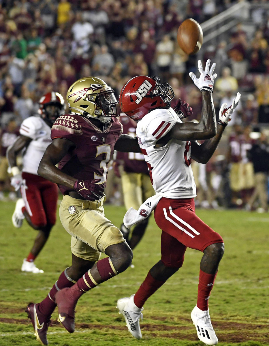 How did the 59-yard-game-winning reception even happen to Florida State?