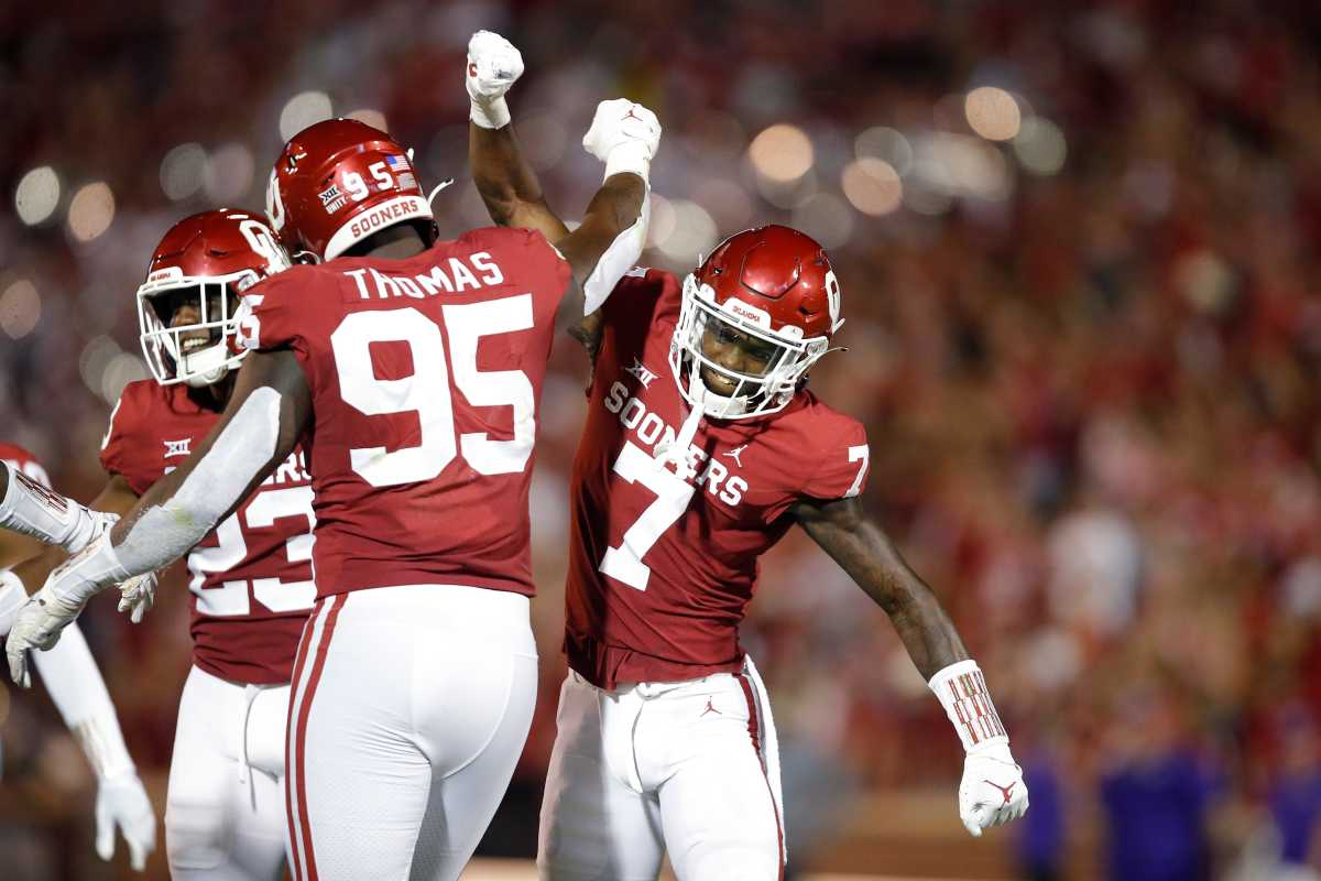 Latrell McCutchin started for the Sooners against the Western Carolina Catamounts as a true freshman