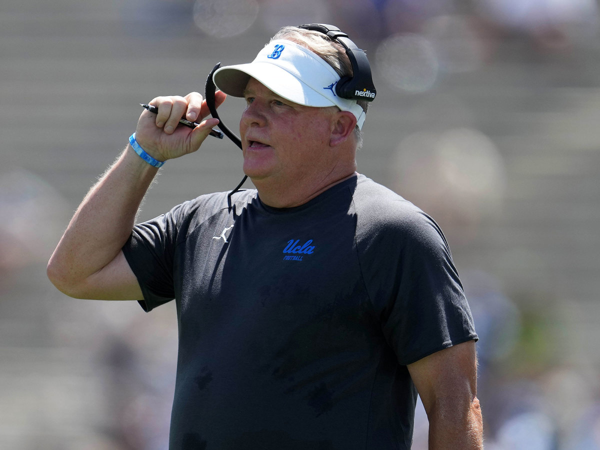 Chip Kelly while at UCLA