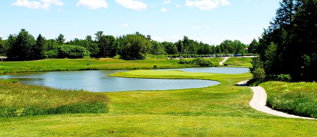 Fox Ridge Golf Club may be the best ofbest C. Lennie Myshrall course designs.