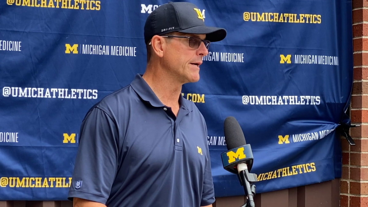 Harbaugh and Steuber Talk