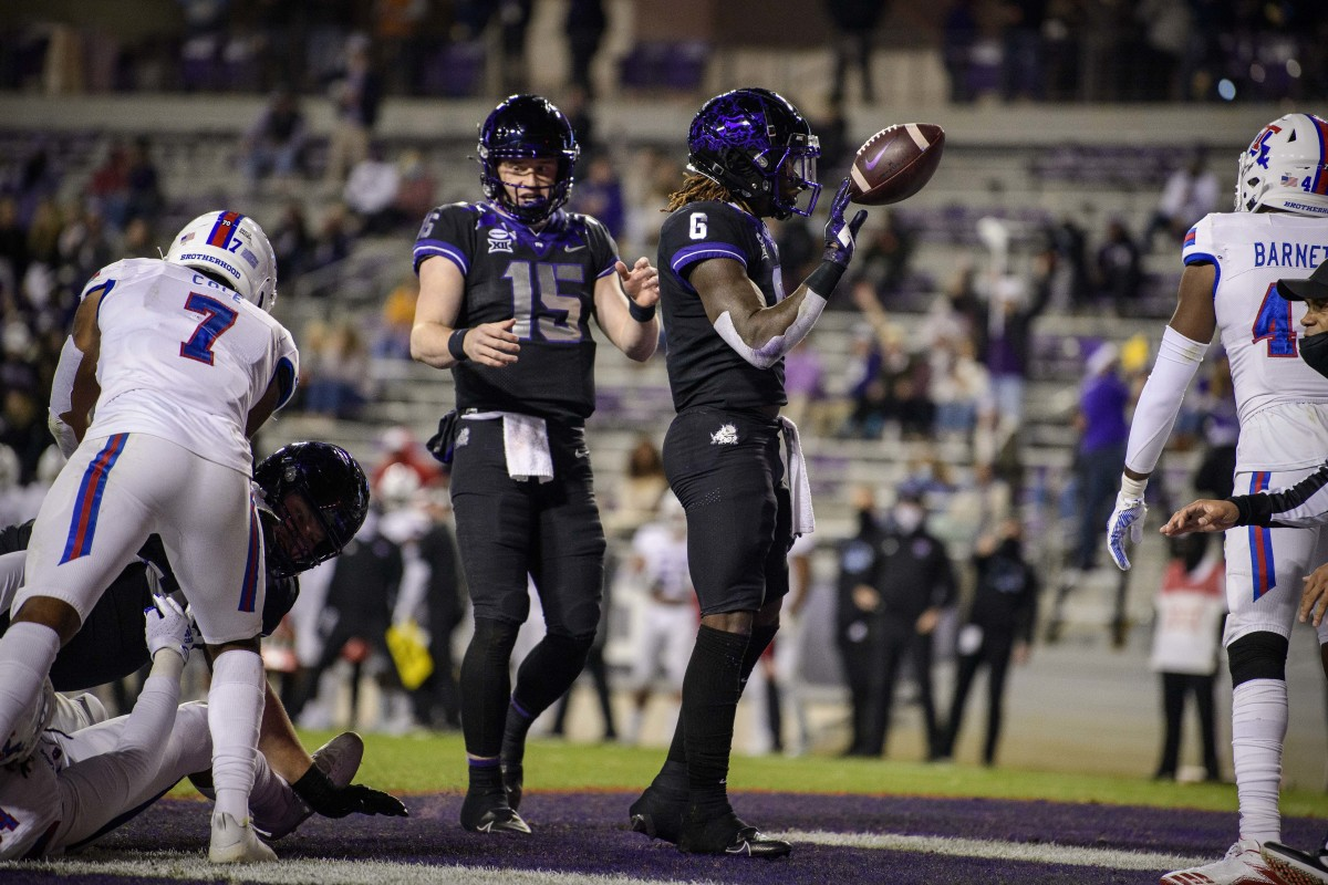 Zach Evans was TCU's highest-rated recruit ever; he is growing into a star on Saturdays.