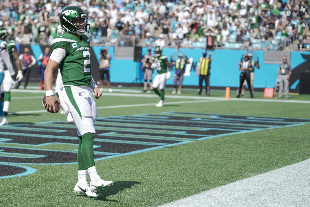 In an up-and-down first start, Zach Wilson flashed but was generally inconsistent in his first NFL game.
