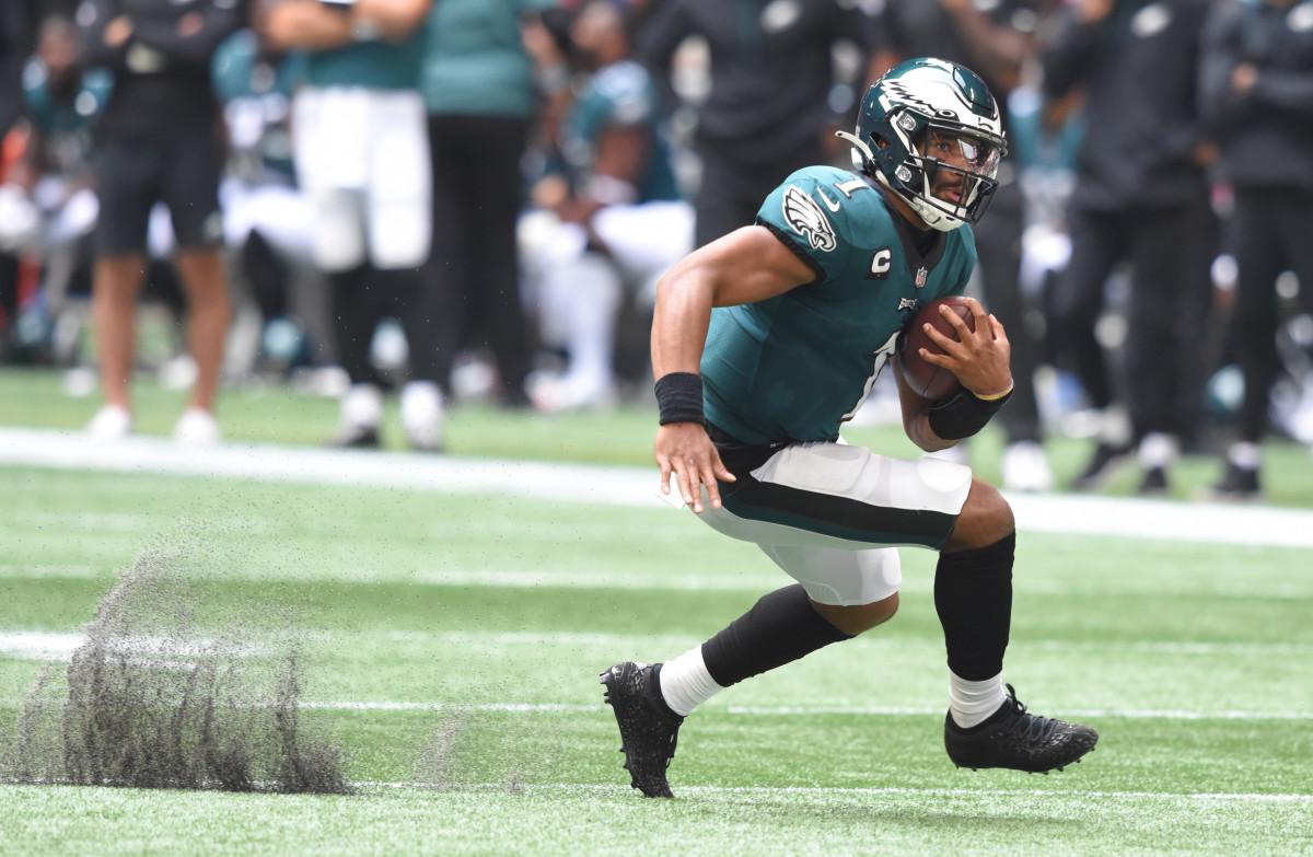 Jalen Hurts looked like an NFL starter in Week One against Atlanta.