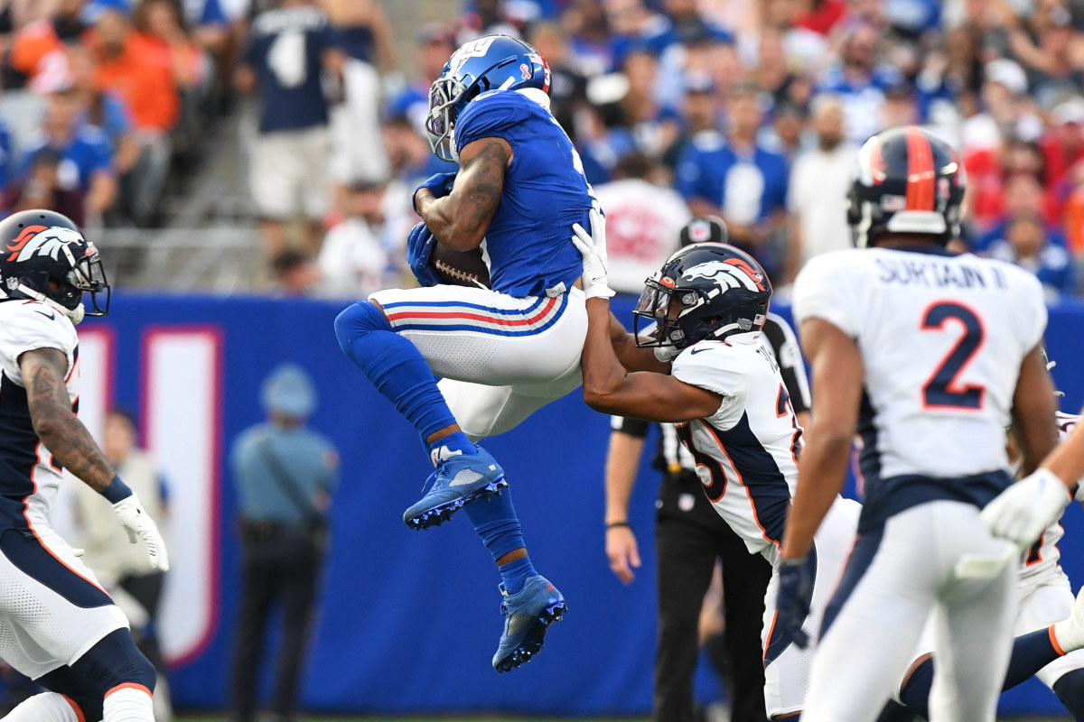 An underrated slot receiver, Sterling Shepard was the focal point of the Giants' offense in Week One.