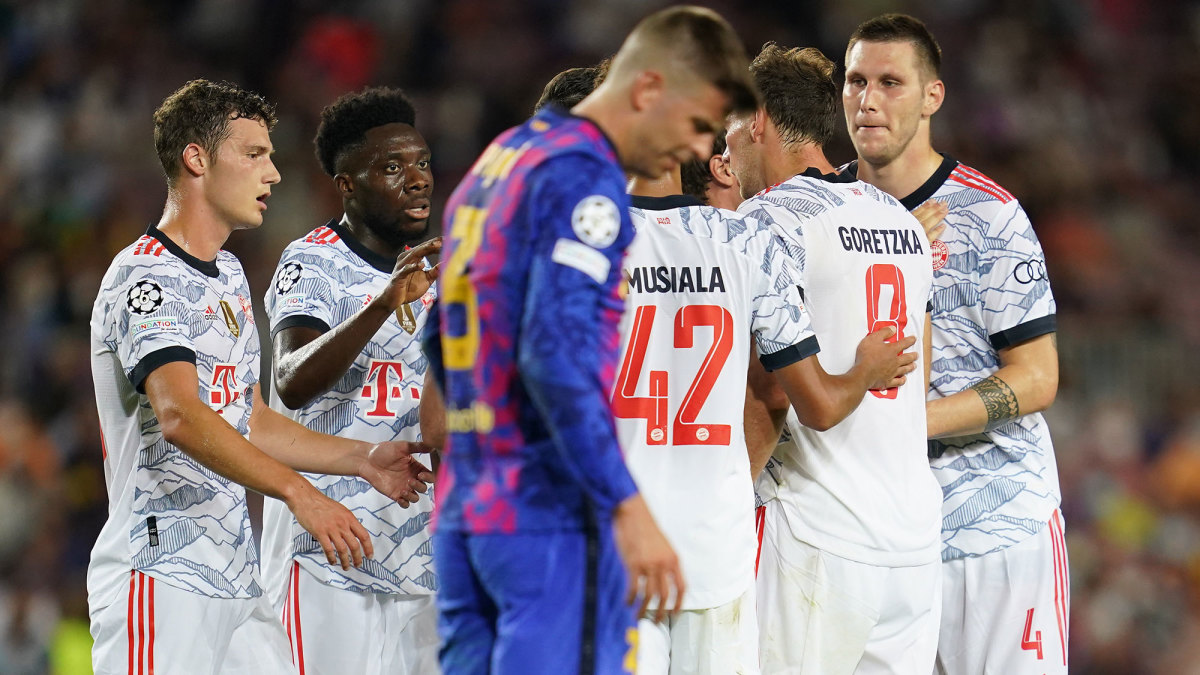 Bayern Munich routs Barcelona 3-0 in the Champions League