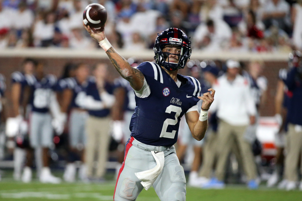One of the more exciting quarterbacks in the nation, Matt Corral is a high-impact player for the Rebels.