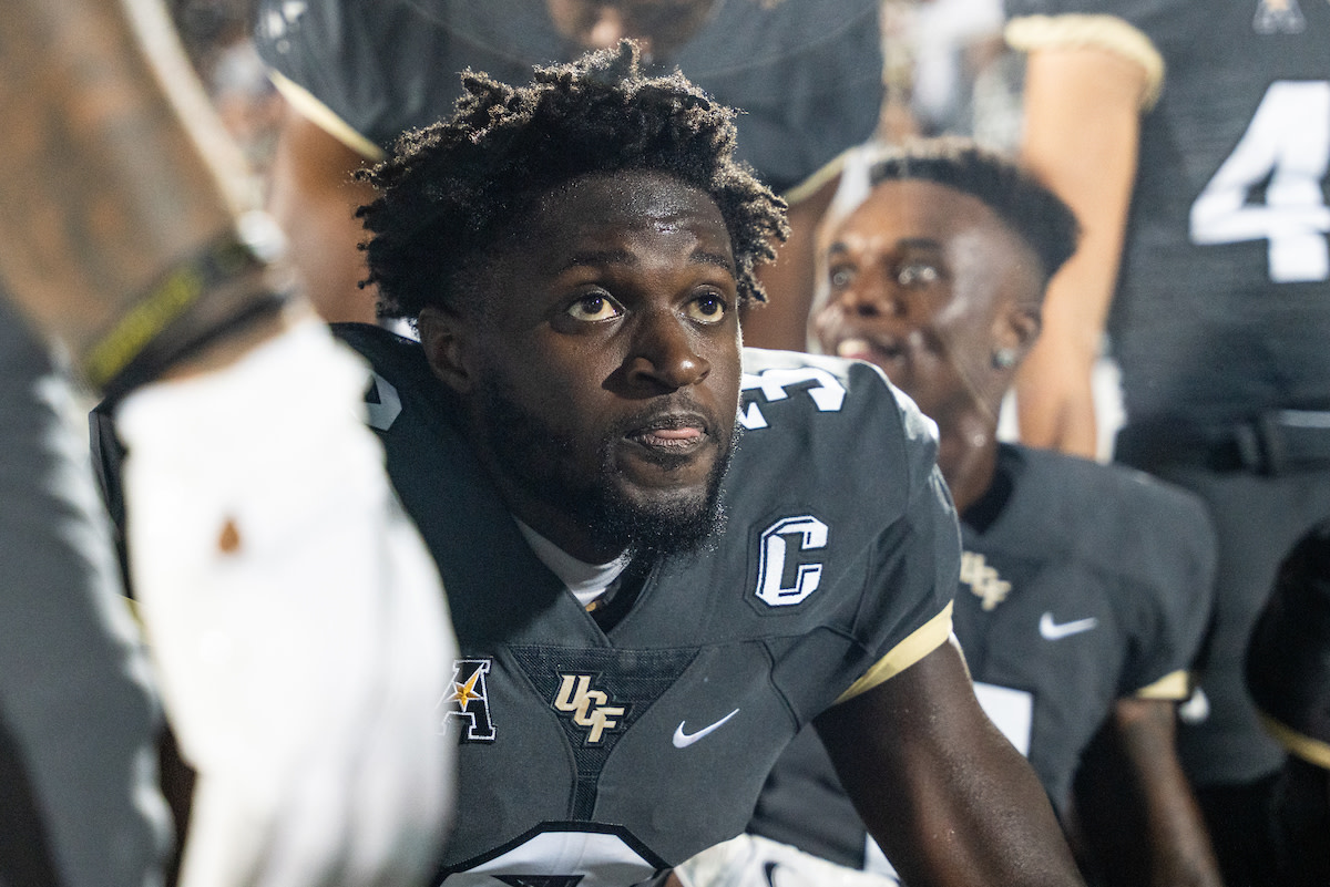 """There's a good reason that Brandon Johnson received a """"C"""" on his jersey. He's a true leader."""