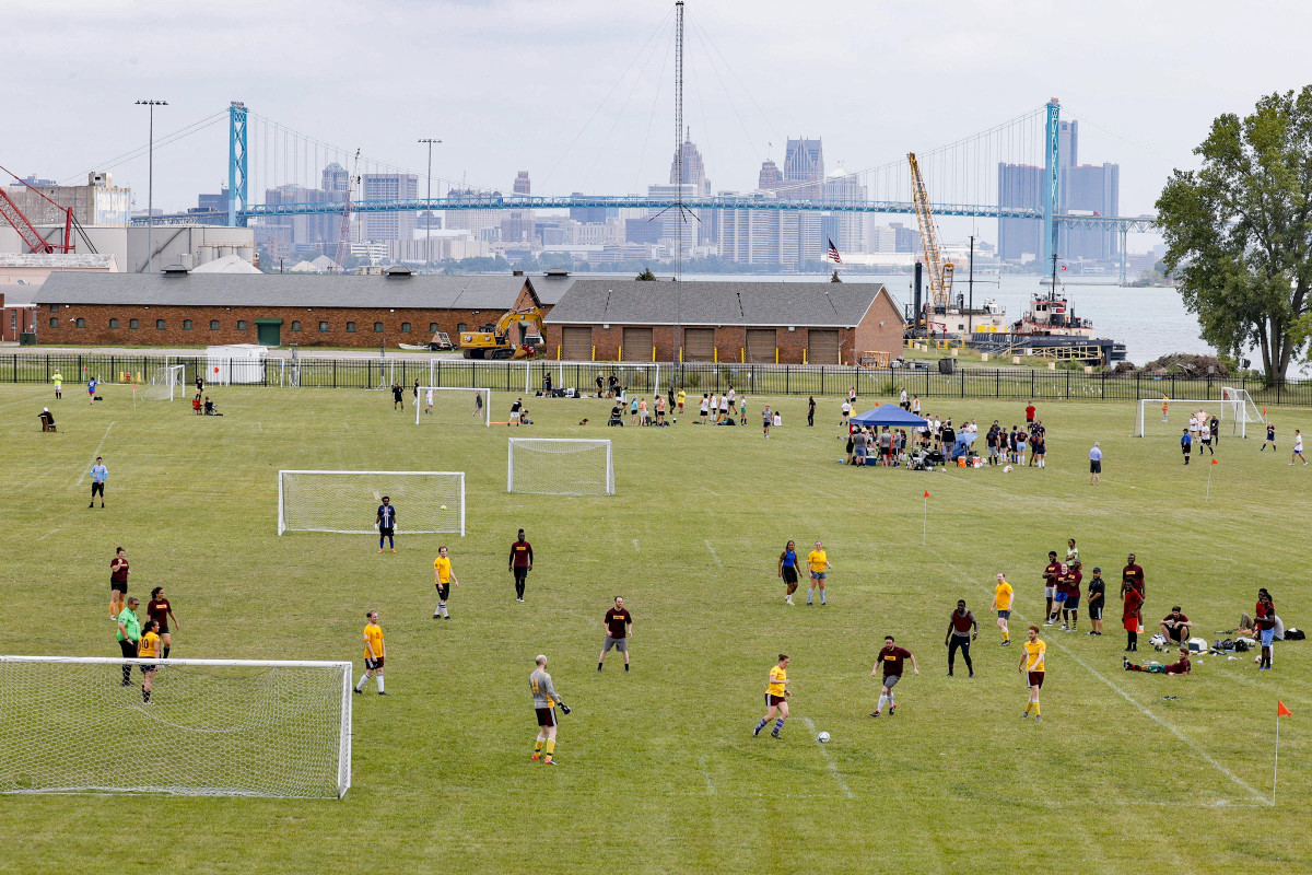 The Detroit City Futbol League, a co-ed recreational circuit, predates even the club's senior team.