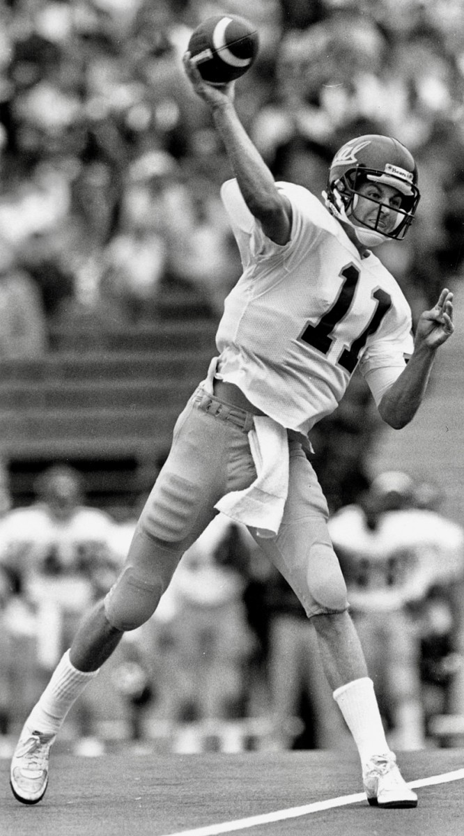 Troy Taylor in 1989