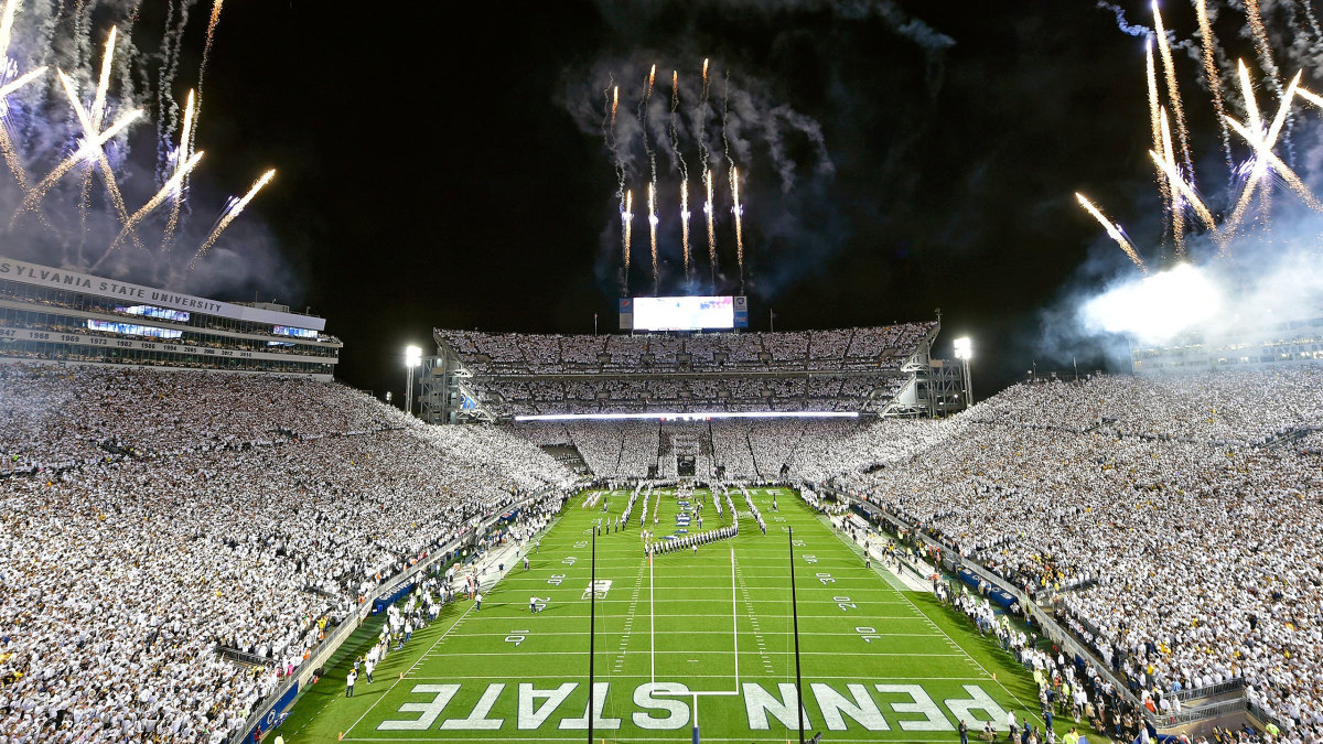 Penn State's white out in 2019